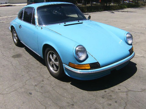 PORSCHE 911 LIGHT BLUE HHBOB 9